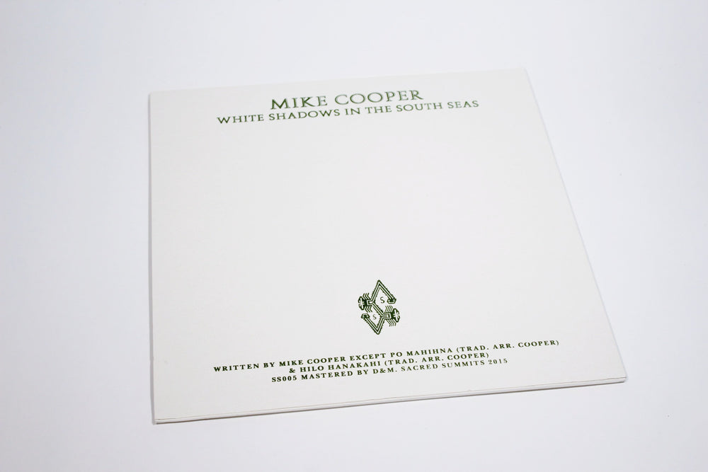 Mike Cooper ‎– White Shadows In The South Seas