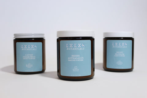 Zizia Botanicals Powders