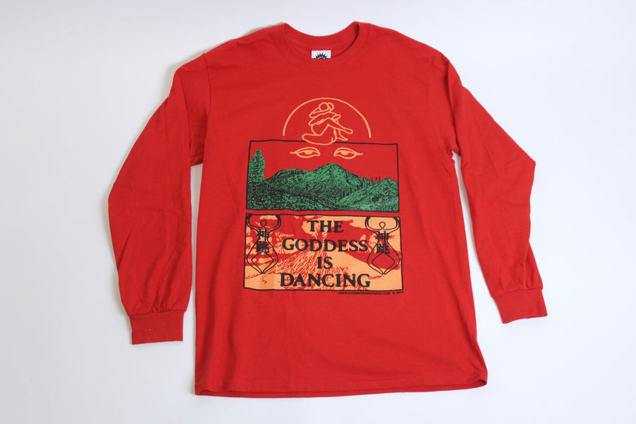 The Goddess is Dancing Long Sleeve Tee