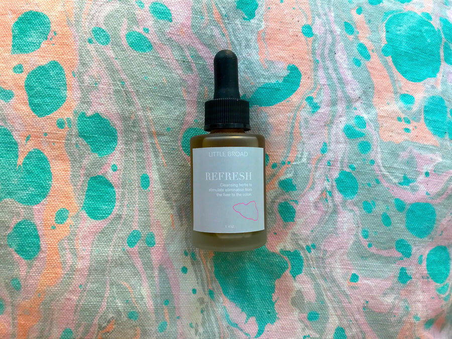 Little Broad Fresh Plant Tinctures - Refresh