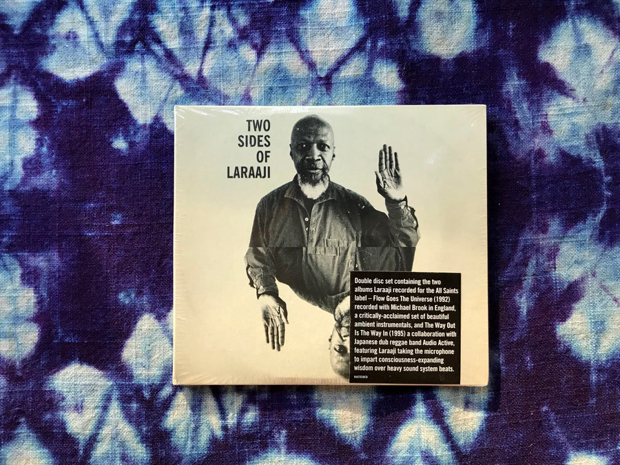 Laraaji - Two Sides of Laraaji - 2xCD