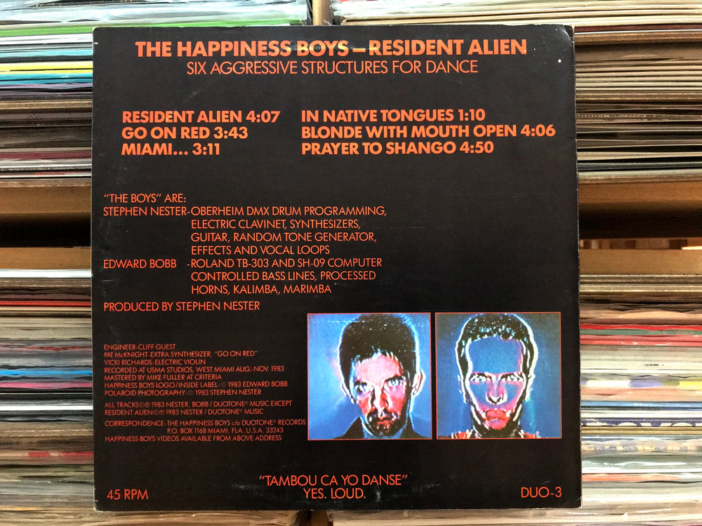 The Happiness Boys ‎– Resident Alien (Used)