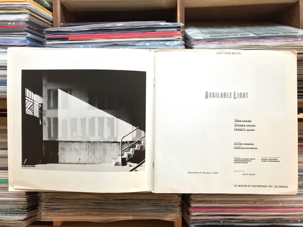 John Luther Adams - Available Light (Used)