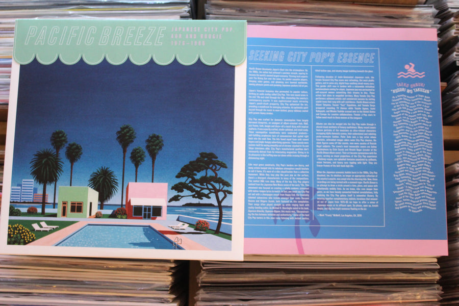 V/A ‎– Pacific Breeze: Japanese City Pop, AOR & Boogie 1976-1986