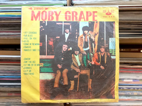 Moby Grape - Moby Grape (Taiwan) (Used)