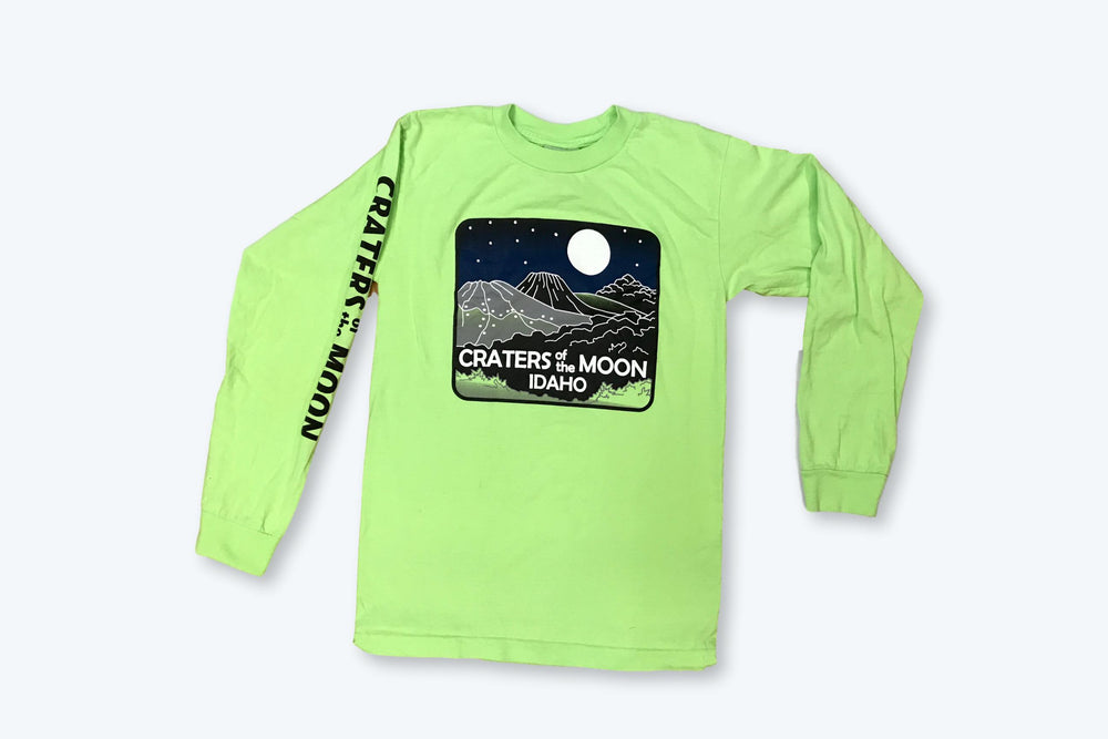 Vintage Craters of the Moon Idaho LS