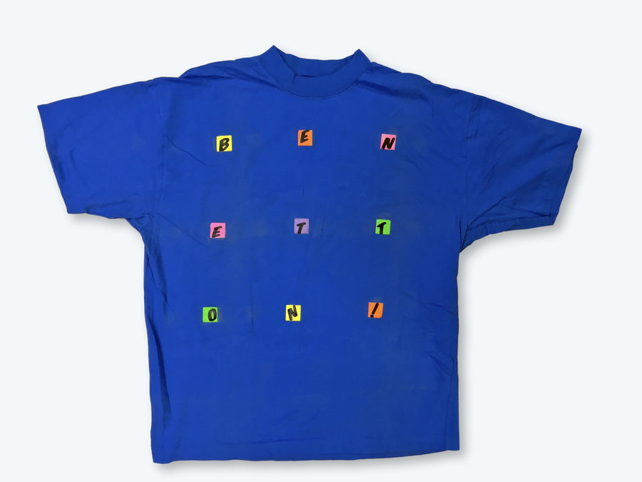 Vintage United Colors of Benetton Alphabet T-Shirt
