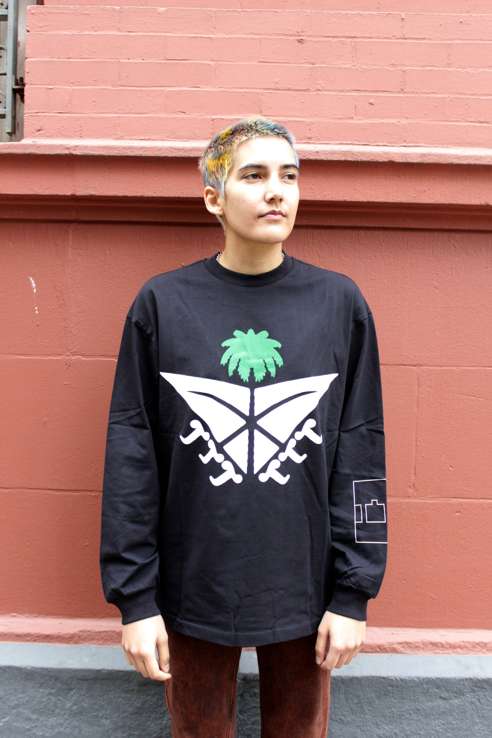 The Trilogy Tapes Palm Sword Longsleeve T-shirt