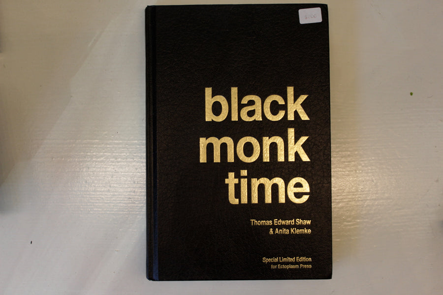 Black Monk Time- Special Limited Edition- book