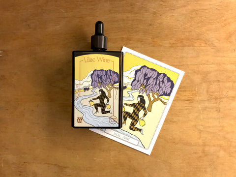 Lilac Wine - Body Oil 100mL by Wyrd
