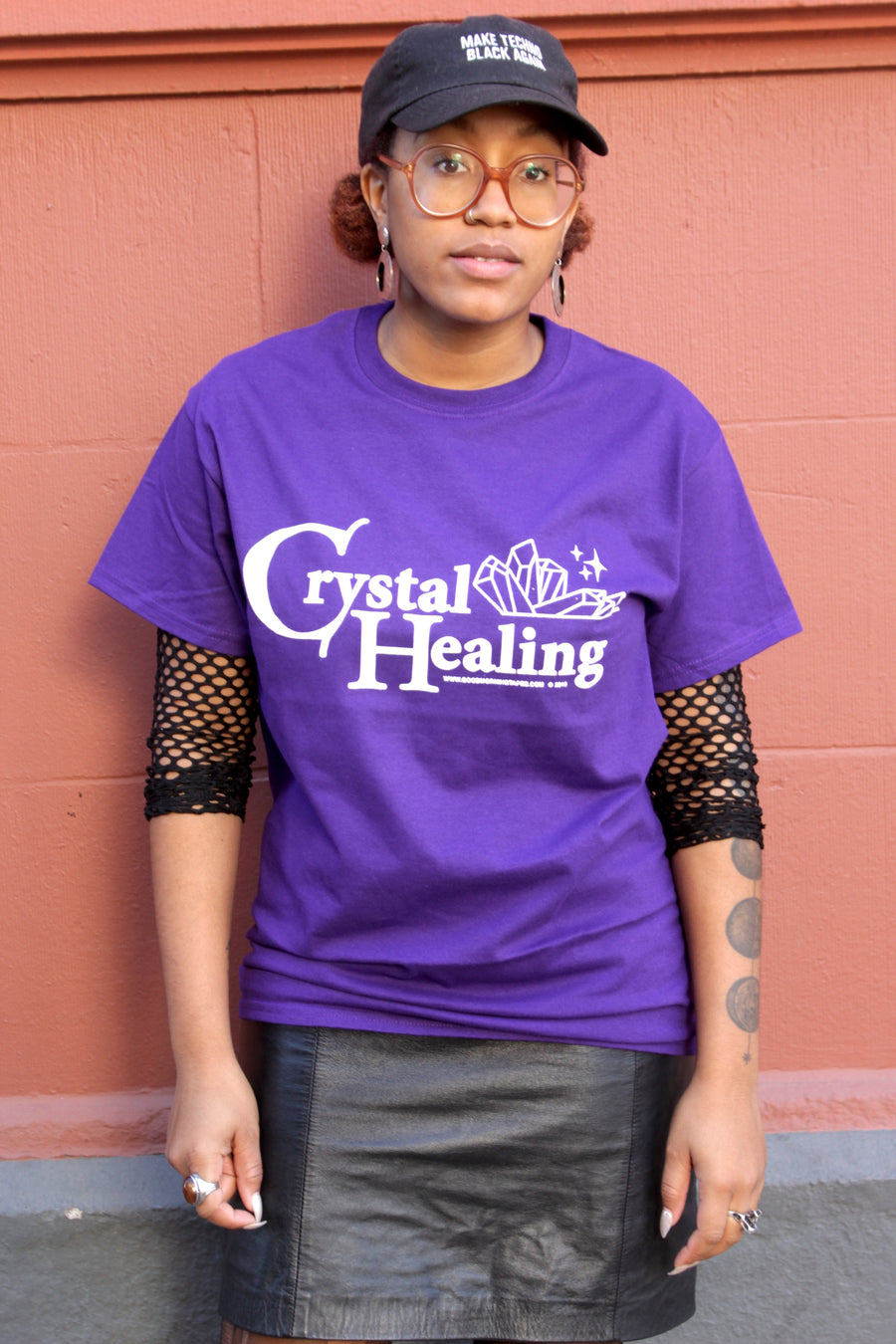 Crystal Healing Short Sleeve Tee