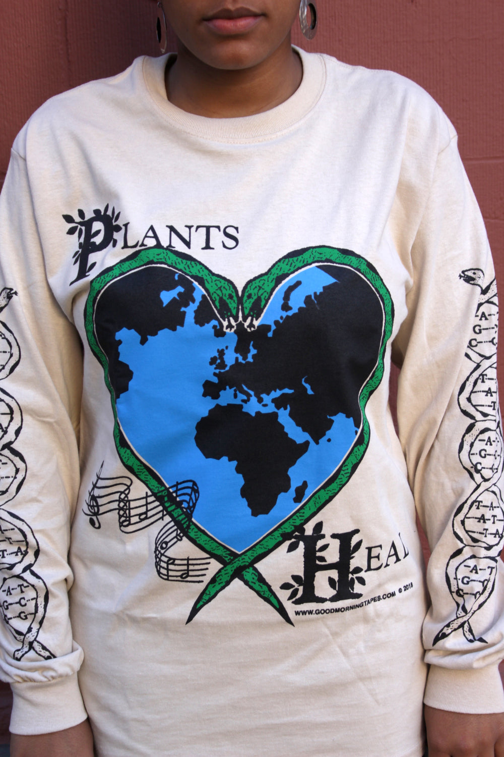 Plants Heal Long Sleeve Tee
