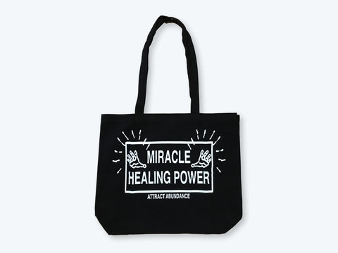 GMT Miracle Healing Power Canvas Totebag