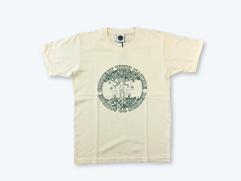 GMT Connect With Nature SS T-Shirt - Natural