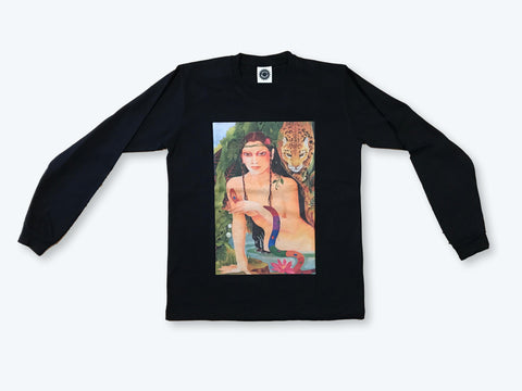 GMT Lilith LS T-Shirt - Washed Black