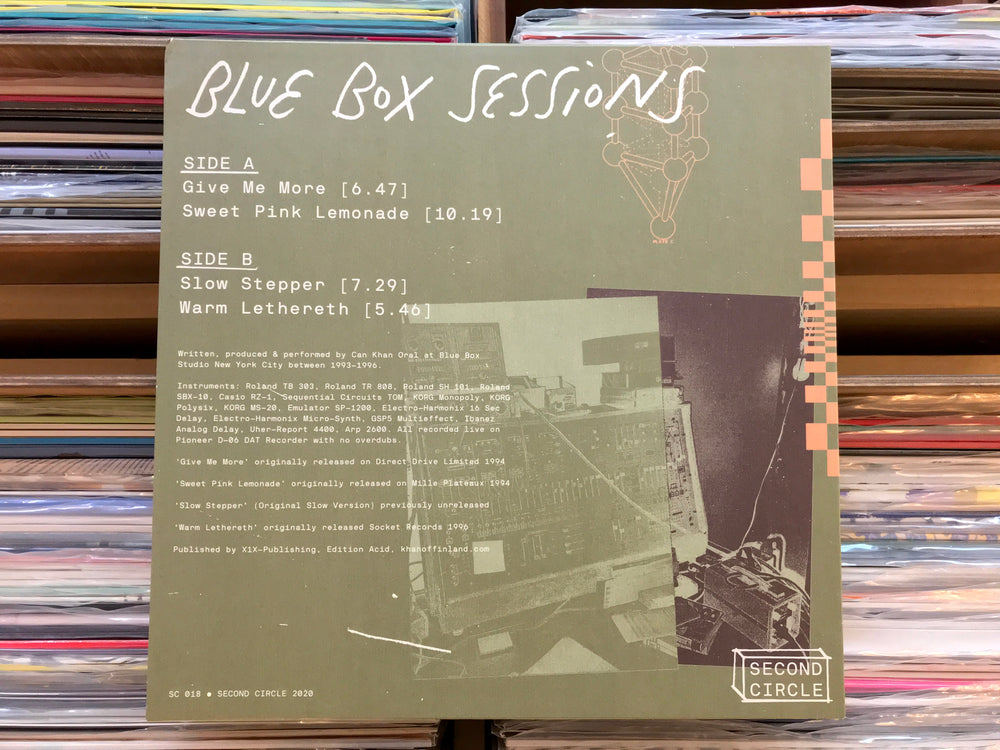 Khan ‎– Blue Box Sessions