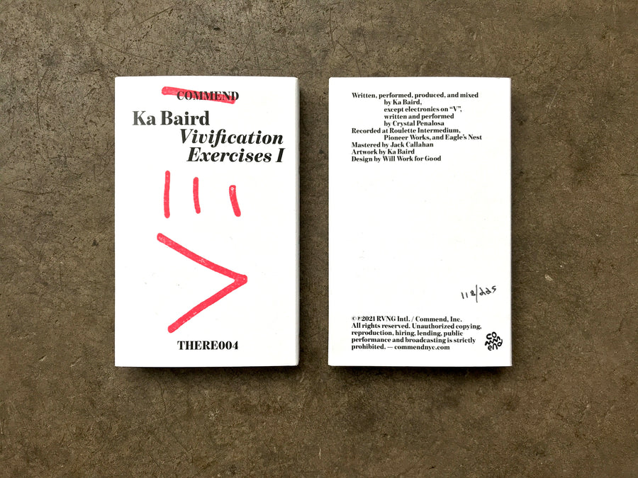 THERE004 Ka Baird - Vivification Exercises I