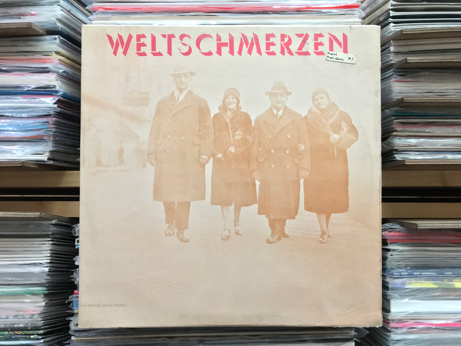 The People's Victory Orchestra And Chorus ‎– Weltschmerzen (Sourced Stock)