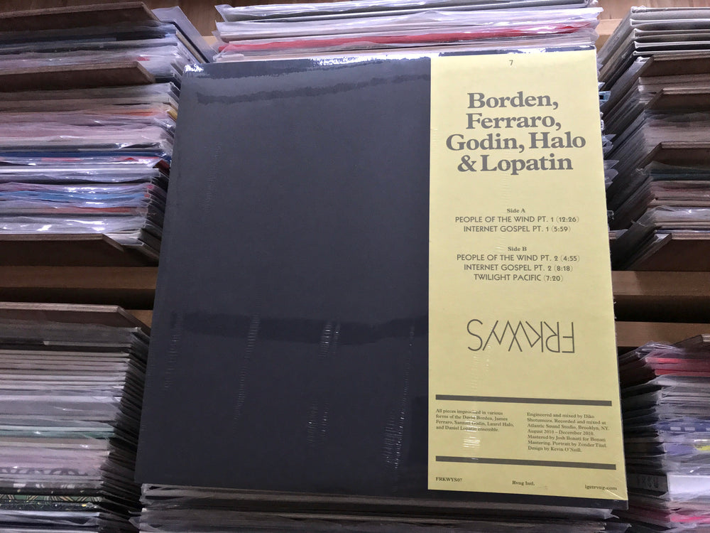 FRKWYS Vol. 7 - Borden, Ferraro, Godin, Halo & Lopatin - FRKWYS Vol. 7 - LP