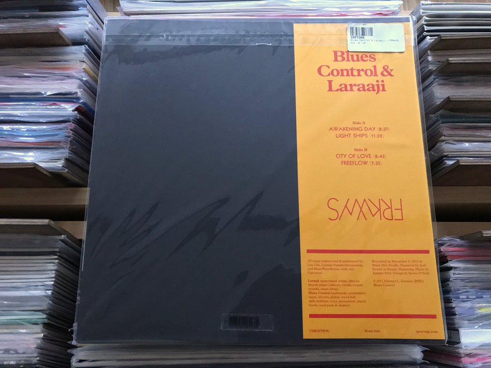 FRKWYS Vol. 8 - Blues Control & Laraaji - FRKWYS Vol. 8 - LP