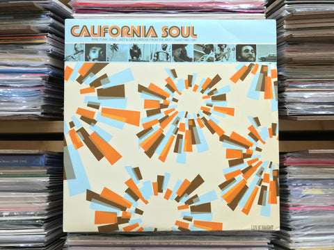 V/A – California Soul (Rare Funk, Soul, Jazz & Latin Groove From The West Coast 1965-1981) DISC 1 ONLY (Used)