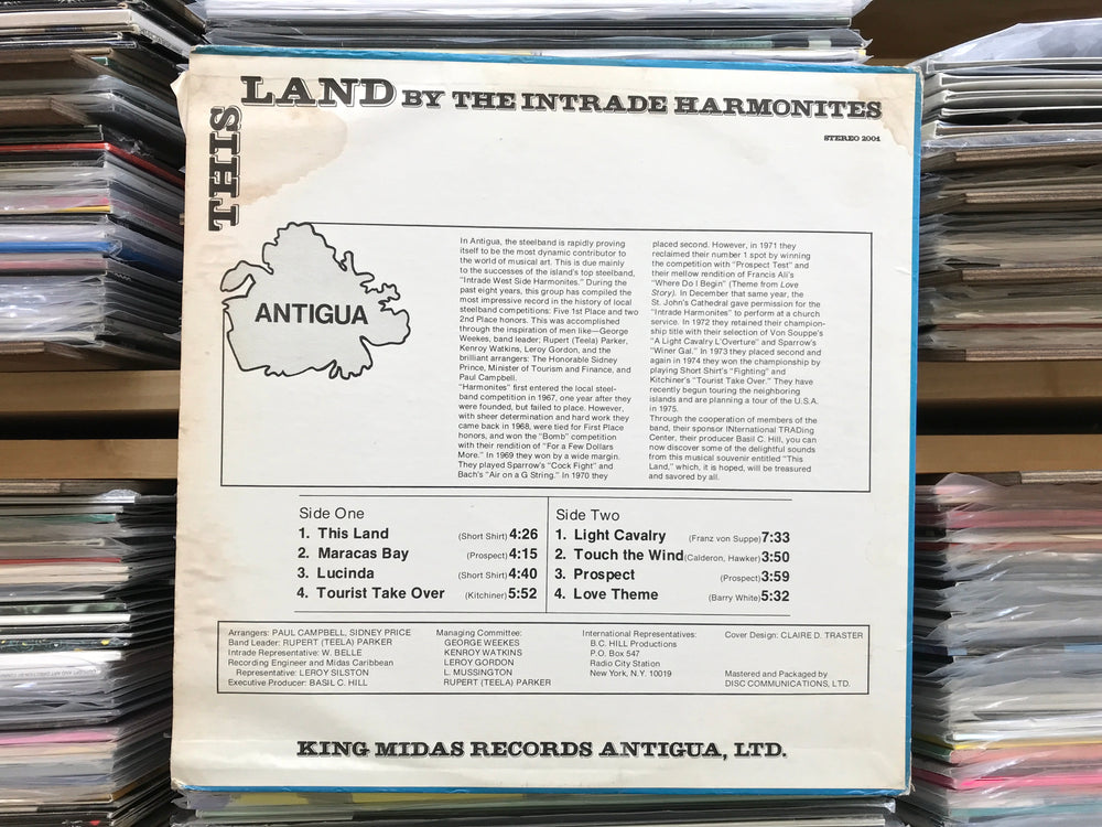 This Land by the Intrade Harmonites (Used)