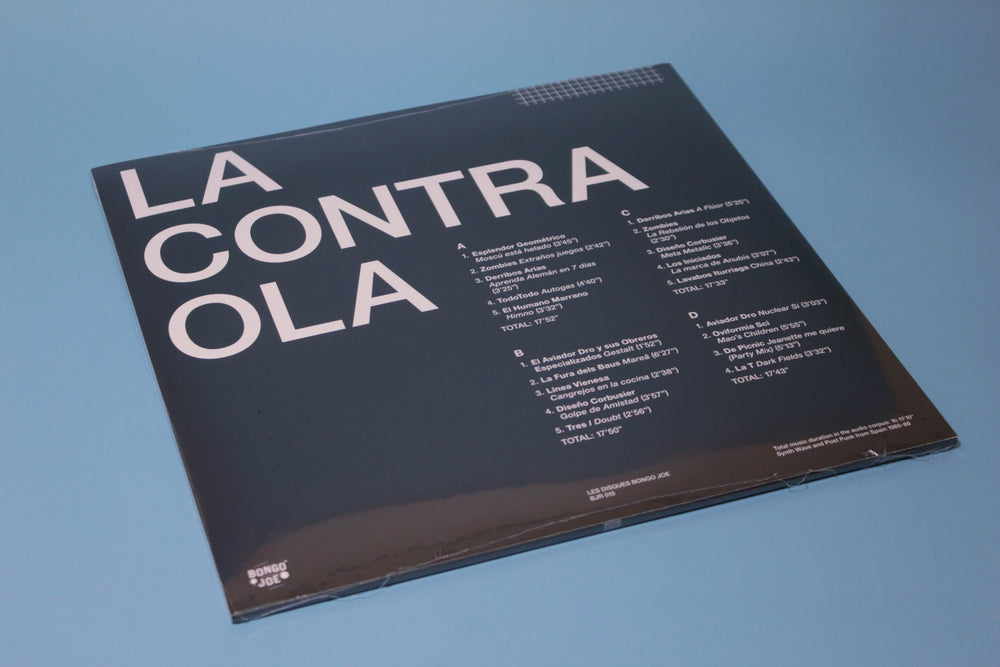 Various ‎– La Contra Ola - Synth Wave And Post Punk From Spain 1980-86