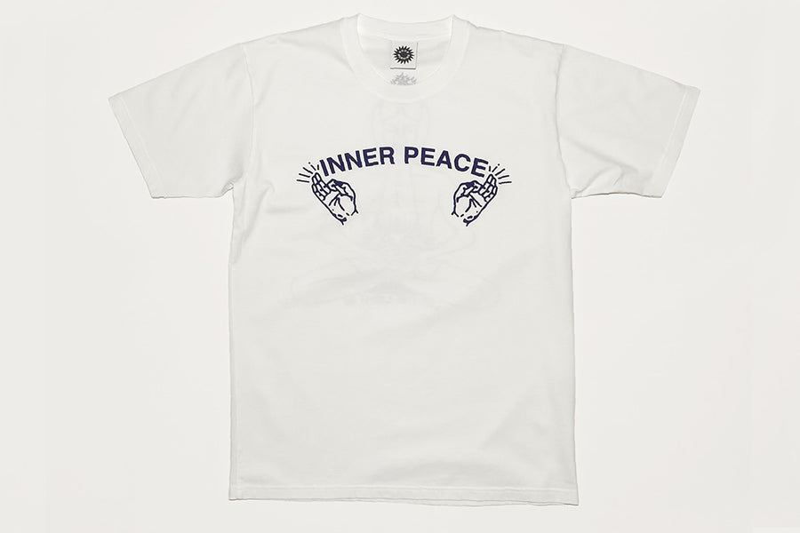 GMT Inner Peace SS Tee - White