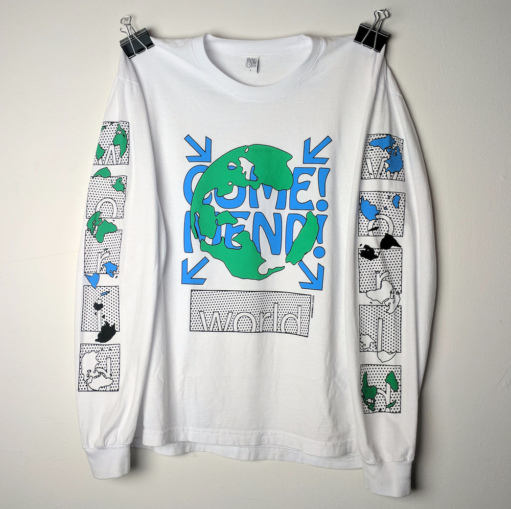 Come! Mend! The World - Long Sleeve Tee