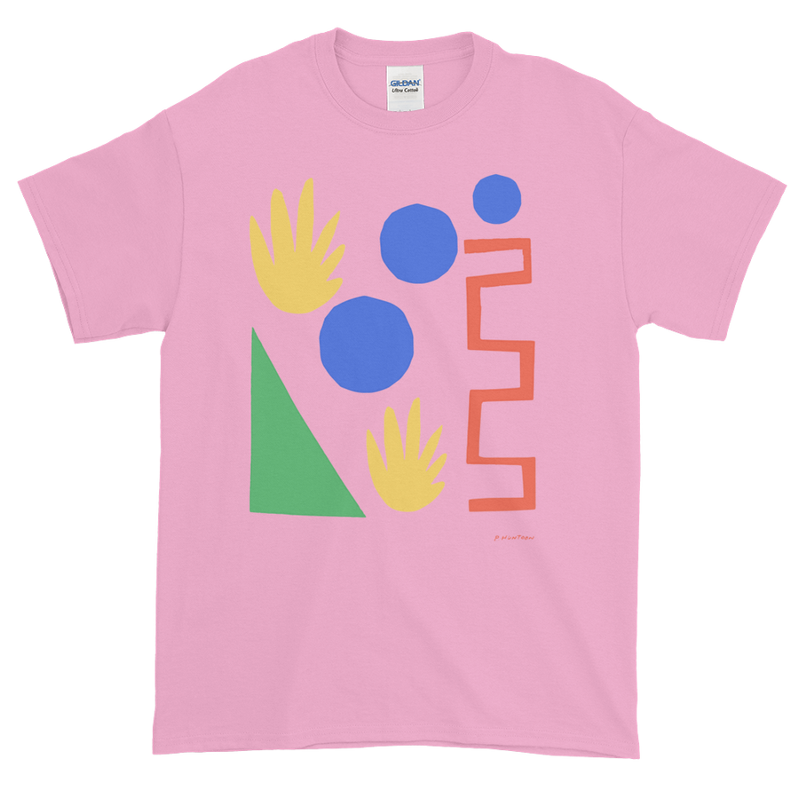 Perry Baron Huntoon Pink T Shirt