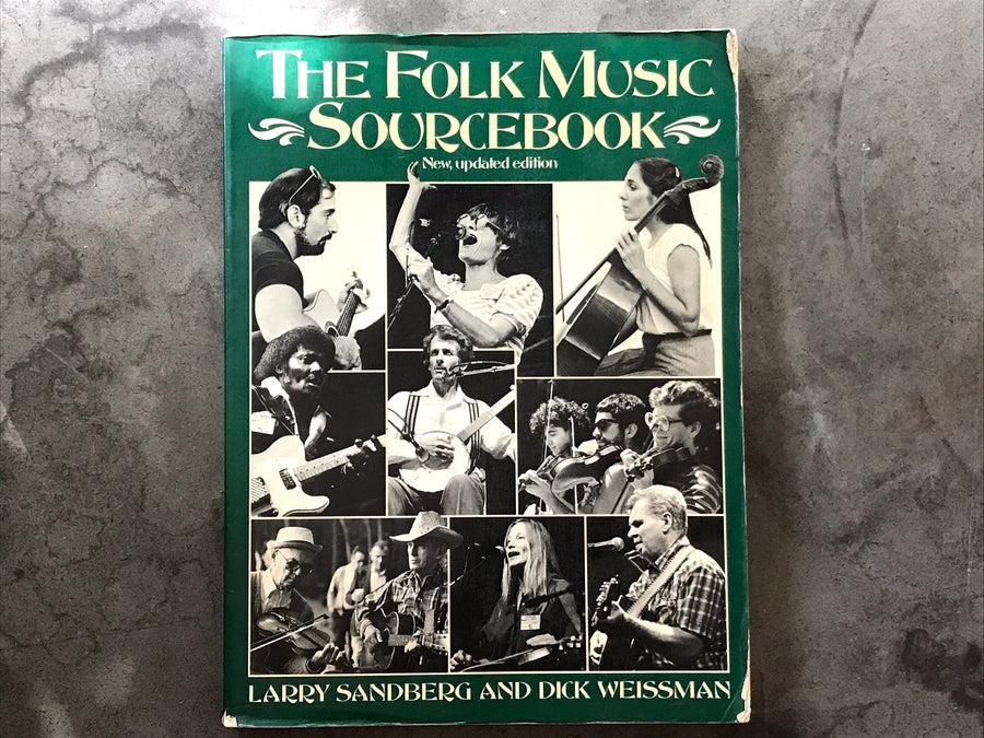 The Folk music Sourcebook - book