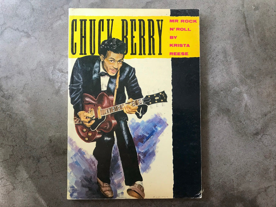 Chuck Berry by Krista Reese
