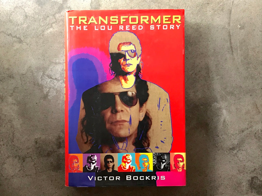 Transformer Lou Reed - Victor Bockris - book