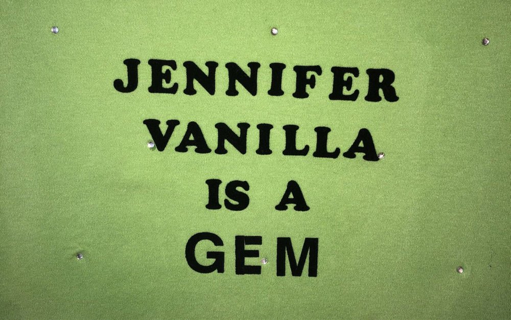Commend x Jennifer Vanilla Handprint Limited Edition Tees