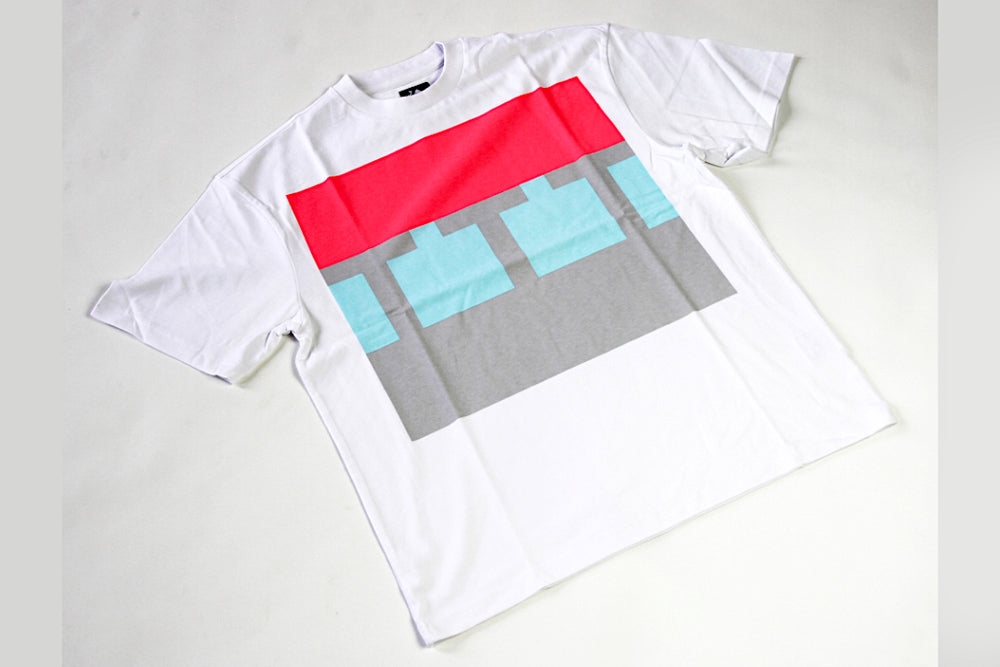 The Trilogy Tapes Block Tee - White