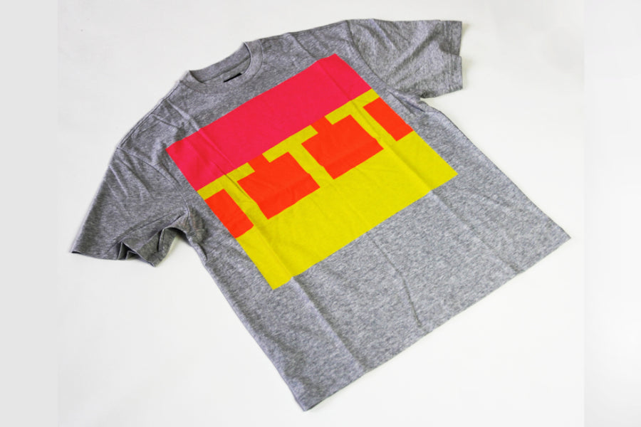 The Trilogy Tapes Block Tee - Grey
