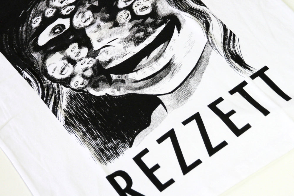 The Trilogy Tapes Rezzett Tee - White