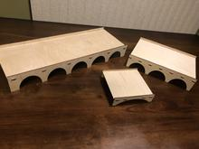 "Small (6x6x1.5"") Pupae Bridge"