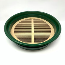 "WOODEN Round (11"") Mealworm Pupae Sifting Tray"