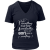 Put Everything in GOD'S Hand V-Neck