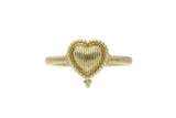 RIPKA Romance Gold Heart Ring