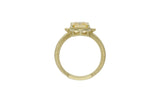 RIPKA Angelica Step Cut Canary CZ Ring