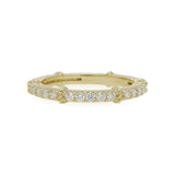 RIPKA La Petite Diamond Pavé Stack Band Ring