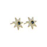 RIPKA Juliette Sapphire & Diamond Star Stud Earrings