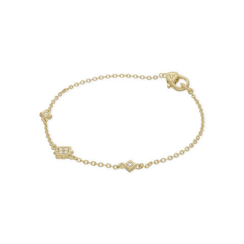 RIPKA Juliette Diamond Cube Station Bracelet