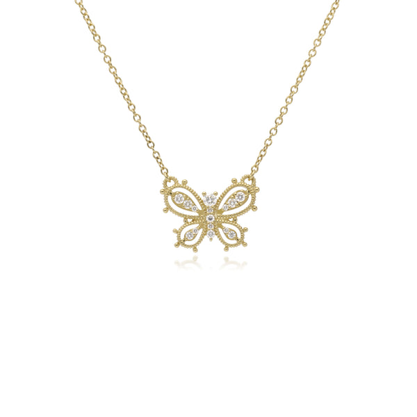 RIPKA Juliette Diamond Butterfly Pendant
