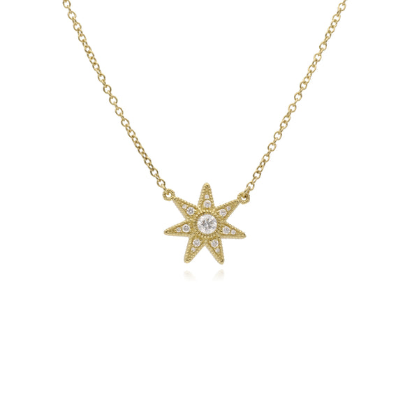 RIPKA Juliette Pavé Diamond Star Pendant