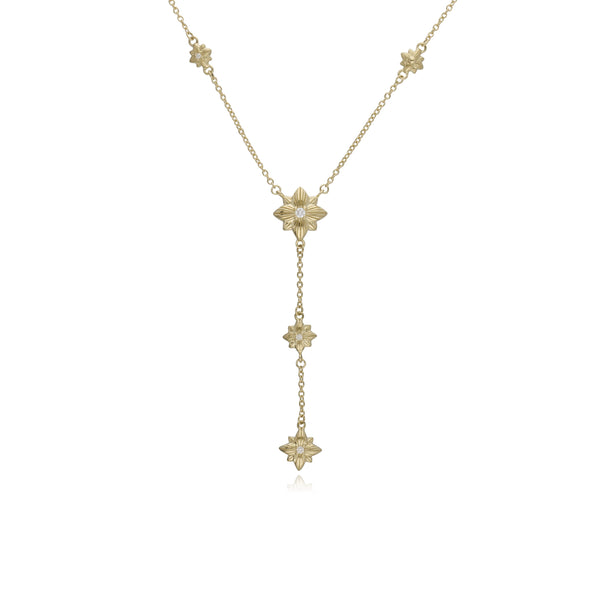 RIPKA Starlight Y Necklace with Diamond Accents