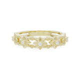 RIPKA Starlight Band Ring with Diamond Accents