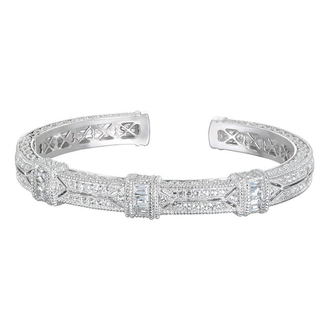 RIPKA Estate White Topaz Cuff